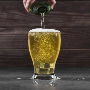 personalised beer glasses